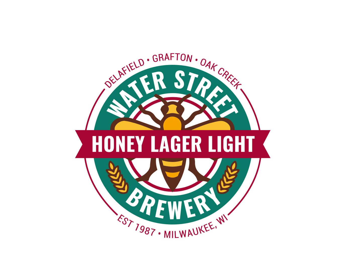 Water Street Brewing Logo Concept Completed Website